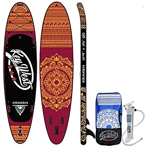 Key West Paddle Hinchable Kraken 12.9: Amazon.es: Deportes y aire ...