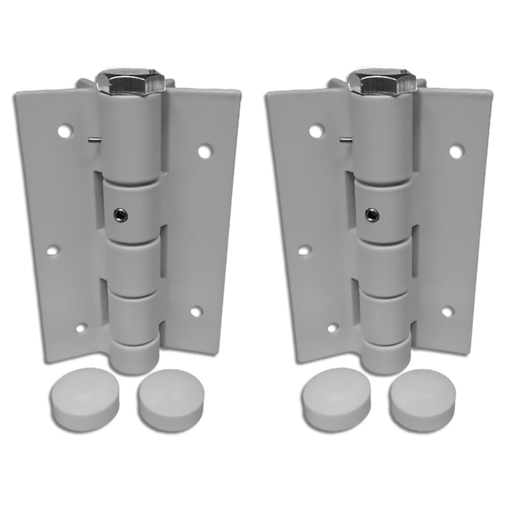 3-1/2' Spring Hinge Automatic Selfclosing Spring Hinge Adjustible Auto Hinges WHITE SOLD IN PAIRS