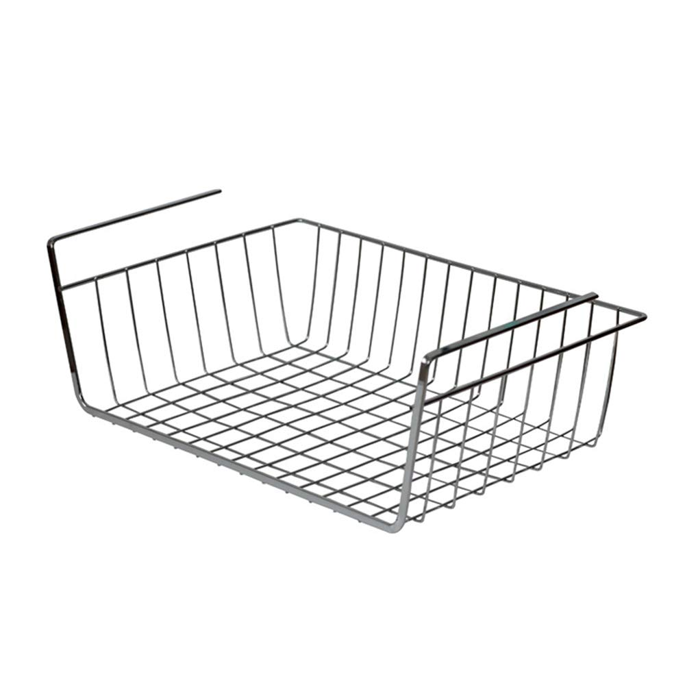 Desk Organizer with Desktop Stationery Finishing Storage Basket Office Supplies Storage Box Perfect For Home, Students, Or Office Desktop Organizer,Office Storage Rack,Office Stor ( Color : Silver )