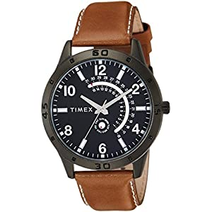 Timex Analog Black Dial Men's Watch – TW000U928