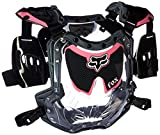 Fox Racing R3 Women's Roost Deflector MotoX/Off-Road/Dirt Bike Motorcycle Body Armor - Black/Pink / Small/Medium