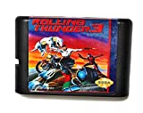 Taka Co 16 Bit Sega MD Game Rolling Thunder 3 16 bit MD Game Card For Sega Mega Drive For Genesis