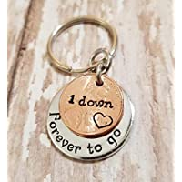 1st Anniversary Gift for Him or Her 1 Down and Forever To Go on a 2019 Copper Penny