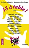 img - for 13 a table ! 2017 / Les Restos du Coeur (French Edition) book / textbook / text book
