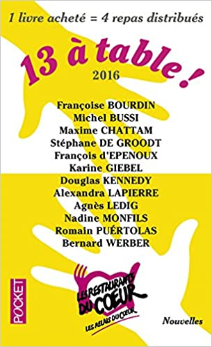 13 A Table 2017 Les Restos Du Coeur French Edition