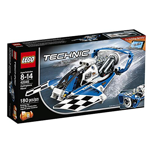 LEGO Technic Hydroplane Racer 42045 Advanced Vehicle Set (Speed Boat Racers)
