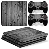 Gam3Gear Vinyl Decal Protective Skin Cover Sticker for PS4 Pro Console & Controller – Gray Wood Review
