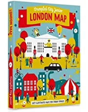 Junior London Crumpled City Map