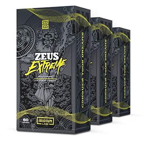 Zeus Extreme Pré Hormonal - 60 comps - Kit 3 caixas