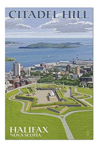 Halifax, Nova Scotia - Citadel Hill (20x30 Premium 1000 Piece Jigsaw Puzzle, Made in USA!)