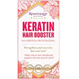 Reserveage - Keratin Hair Booster with Biotin & Resveratrol, Strengthens + Nourishes Hair and Nails, 120 Capsules