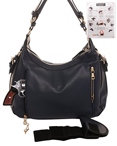 Key Outfitters Lock Hobo Emperia Chloe Black Concealed Carry Wallet amp; Gun waHaPqxS