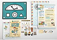 Mysteries in Time – History Subscription for Kids   Ages 7-11   Classic Pack