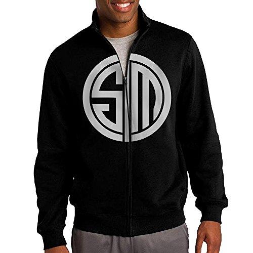 simoon-team-solo-mid-tsm-team-logo-mens-solid-stand-collar-zipper-jacket-size-xl