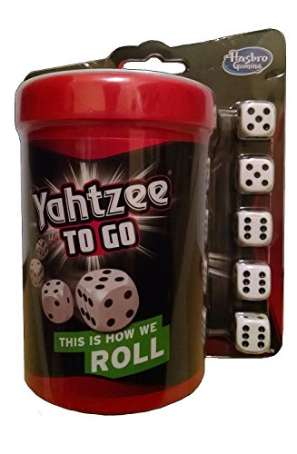 Yahtzee to Go Travel Game 2014 by Hasbro