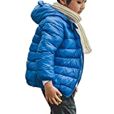 BSC007 Baby Boys Girls Winter Coats Hoods Light