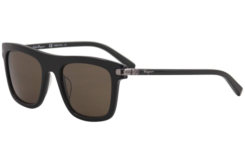 3fd4ffb4e1 Amazon.com  Salvatore Ferragamo Sunglasses SF785S 001 BLACK 52x21x140   Clothing