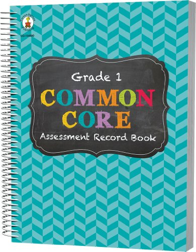 Common Core Assessment Record Book, Grade 1