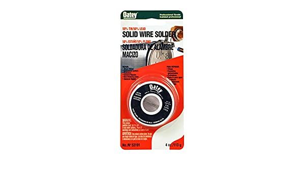50/50 Wire Solder - Carded - - Amazon.com