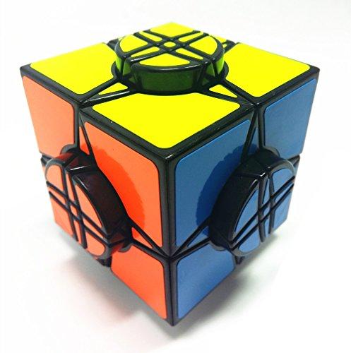 QTMY Plastic Irregular Speed Magic Cube (Plastic Transparent Mirror)