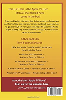 Apple tv 2 user manual manual array apple tv generation 3 user guide newbie to expert in 1 hour tom rh fandeluxe Images