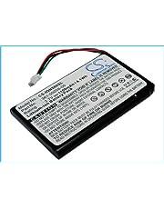 CS-IQN500SL Batteria 1100mAh compatibile con [GARMIN] Nuvi 30, Nuvi 50, Nuvi 50LM, Nuvi 55LM, Nuvi 55LMT sostituisce 361-00056-00