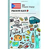 Puerto Rico My Travel Diary: Kids Guided Journey Log Book 6x9 - Record Tracker Book For Writing, Sketching, Gratitude Prompt