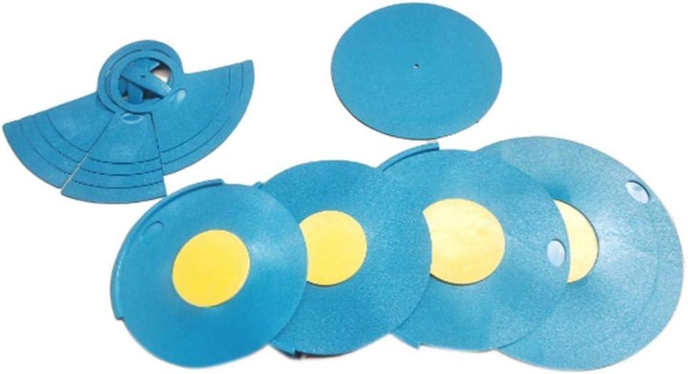 Pad De Pratique De Batterie Silencieuse Jeu De 5 Tambours 3 Cymbales bleu // Noir Silencieux Pour Batterie En Caoutchouc Amortisseurs De Batterie Doux Non Toxiques Sourdine De Batterie Silencieuse
