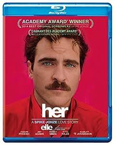 Her [Blu-ray + Digital Copy] (Bilingual)