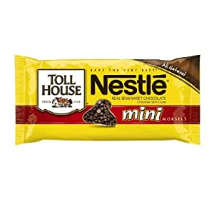 Nestle Toll House Mini Morsels, 12-Ounce Packages (Pack of 12)