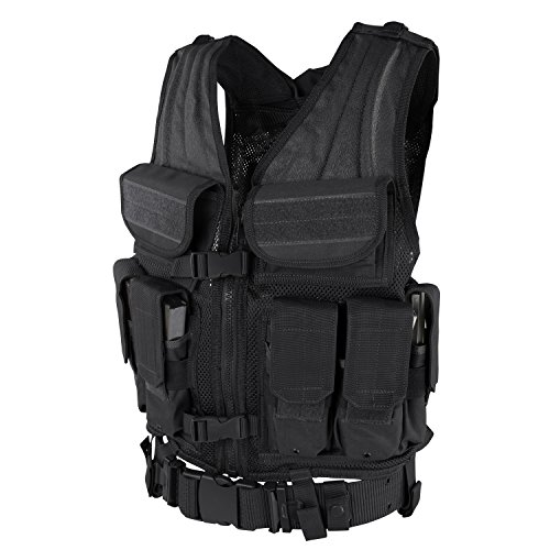 Condor Elite Tactical Vest (Black) (Vest Elite Tactical)