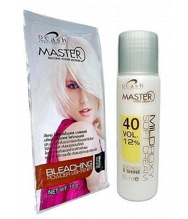 Amazoncom Hair Bleaching Lightening Powder Kit Platinum White By