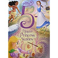 Deals on Disney Princess 5-Minute Princess Stories Hardcover Picture Book