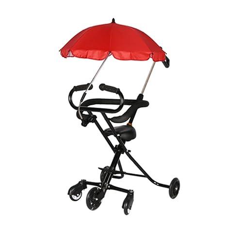 LXZXZ - 5 rondas de carros de viaje plegables para niños 1-6 ...