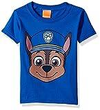 Nickelodeon Kids' Toddler Paw Patrol Chase Big Face Tee, Royal, 5T