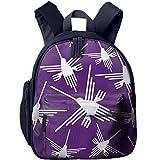 Nazca Lines Hummingbird Student Printed Book Bags Office Lightweight Backpacks School Bags
