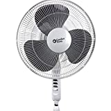 Comfort Zone CZST161BTE Fan Pendulum Oscillating Quad Pod, 16'', White