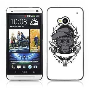 YOYOSHOP [Cool Monkey] HTC One M7 Case