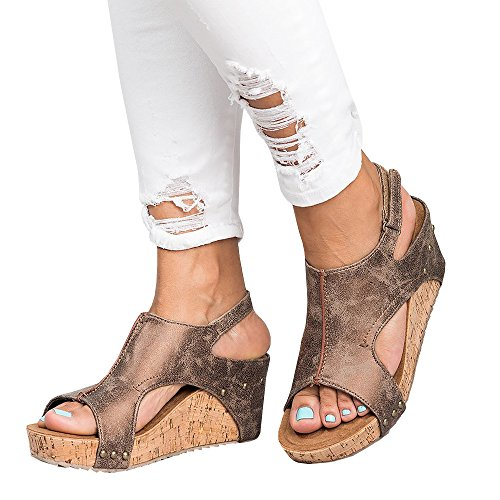 Heel Cork Wedge - 8