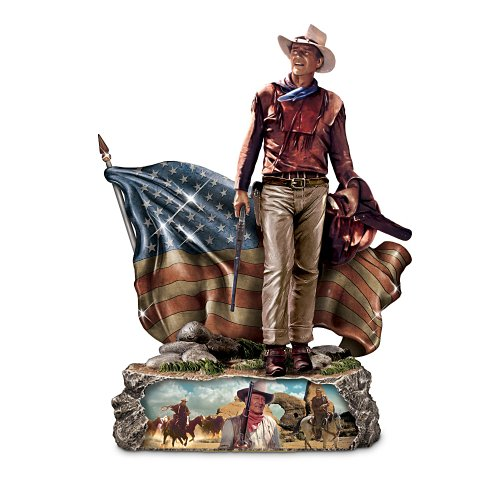 John Wayne Sculpture: Trails Of Glory by The Bradford Exchange