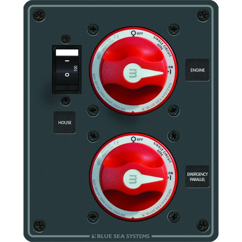 Blue Sea Systems 8080 Blue Sea Panel Dc Parallel Ip