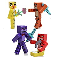 Minecraft Five Nights At Freddy's 8pcs/set
