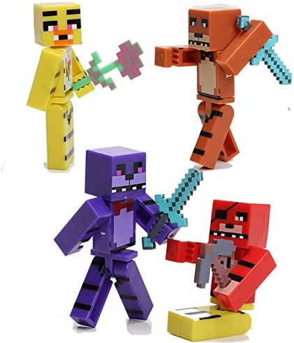 Minecraft Five Nights At Freddy's 8pcs/set