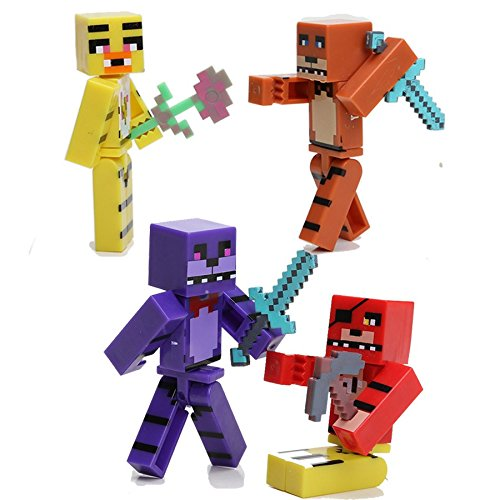 Minecraft Toy Freddy : Minecraft five nights at freddy s pcs set buy online in