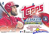 2018 Topps Series 2 MLB Baseball EXCLUSIVE Factory Sealed Retail Box with USA INDEPENDENCE DAY FLAG PATCH! Look for Rookies & Autographs of SHOHEI OHTANI, Gleyber Torres, Ronald Acuna & Many More!