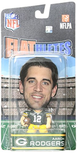 FOCO Green Bay Packers Rodgers A. #12 Flathlete Figurine by FOCO