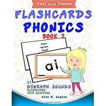 Phonics Flashcards (Digraph Sounds): 68 flash cards with examples