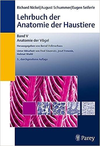 Lehrbuch der Anatomie der Haustiere. Band 5. Anatomie der Vögel ...