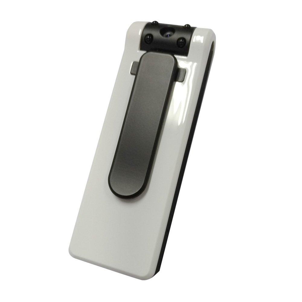 匠ブランド (タクミブランド) クリップ型ビデオカメラ オンホワイト On-White フルHD ホワイト B07DT9ZTBH