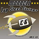 Morrell JMLS-C6 Premium 6-String Lap Steel Guitar Strings for C-6 Tuning 16-38